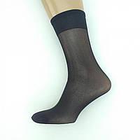 Гольфи капронові «Сако», 20DEN, широка гумка, ущільнений носок, чорні, 20021290