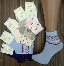 Носки детские - подростковые демисезонные OSKO Китай для девочки С33-04 хлопок 20-25р ассорти с рисунком