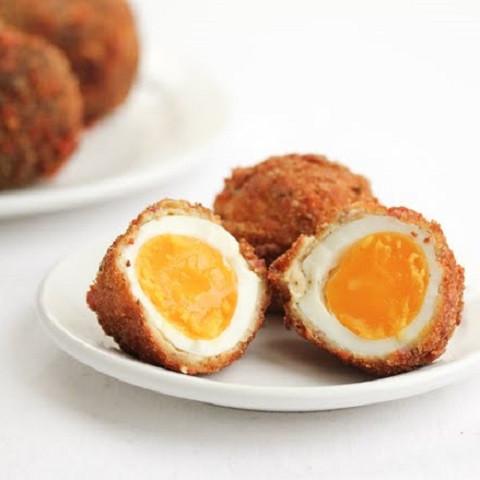 яйца во фритюре