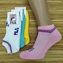 Шкарпетки жіночі з сіткою короткі SPORT F Туреччина, р. 36-41, кольорове асорті, 20014292