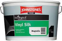 Вінілова фарба для стін напівглянсова Johnstone's Vinyl Silk 10л