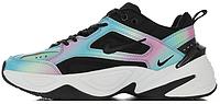 Жіночі кросівки м2к текно, чорні різнокольорові / M2K Tekno Rainbow
