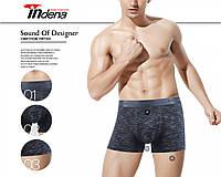 Трусы мужские боксеры стрейчевые х/б Indena underwear 85022 хлопок ТМБ-18994, фото 1