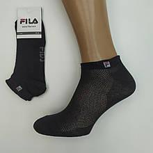 Шкарпетки жіночі літні сітка короткі SPORT F 36-39р чорні,20012724