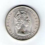 Бермуди Бермудські острови 1 крона 1964 Єлизавета II Срібло №172, фото 2