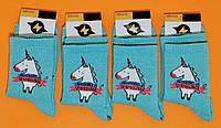 Шкарпетки з приколами демісезонні Rock'n ' socks 444-73 ЄДИНОРІГ БЛАКИТНИЙ Україна one size (37-44р) НМД-0510653