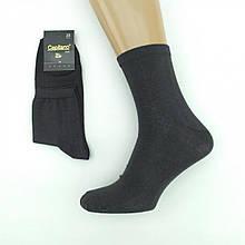Носки мужские демисезонные ГЛАДЬ средние, Capitano, р 25, черные, 20021719