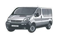 Задняя защита Opel Vivaro