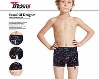 Подростковые стрейчевые боксёры на мальчика INDENA 95506 (7-15 лет) хлопок ТДБ-29115, фото 1