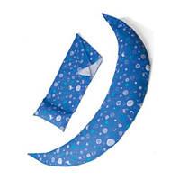 Подушка для вагітних і для годування Nuvita 10 в 1 DreamWizard Синя NV7100Blue