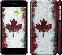 """Чехол на iPhone 6 Plus Флаг Канады """"391c-48"""""""