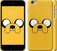"""Чехол на iPhone 6 Plus Adventure Time. Jake """"1121c-48"""""""