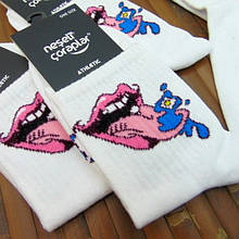 Носки с приколами демисезонные Neseli Coraplar Pink Lips 6011 Турция one size (37-44р) 20009717
