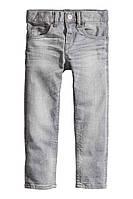 Стильные зауженные джинсы для мальчика h&m (Германия)