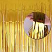 Фото-фон - шторка из фольги ЗОЛОТО (1х2 метра), фото 2
