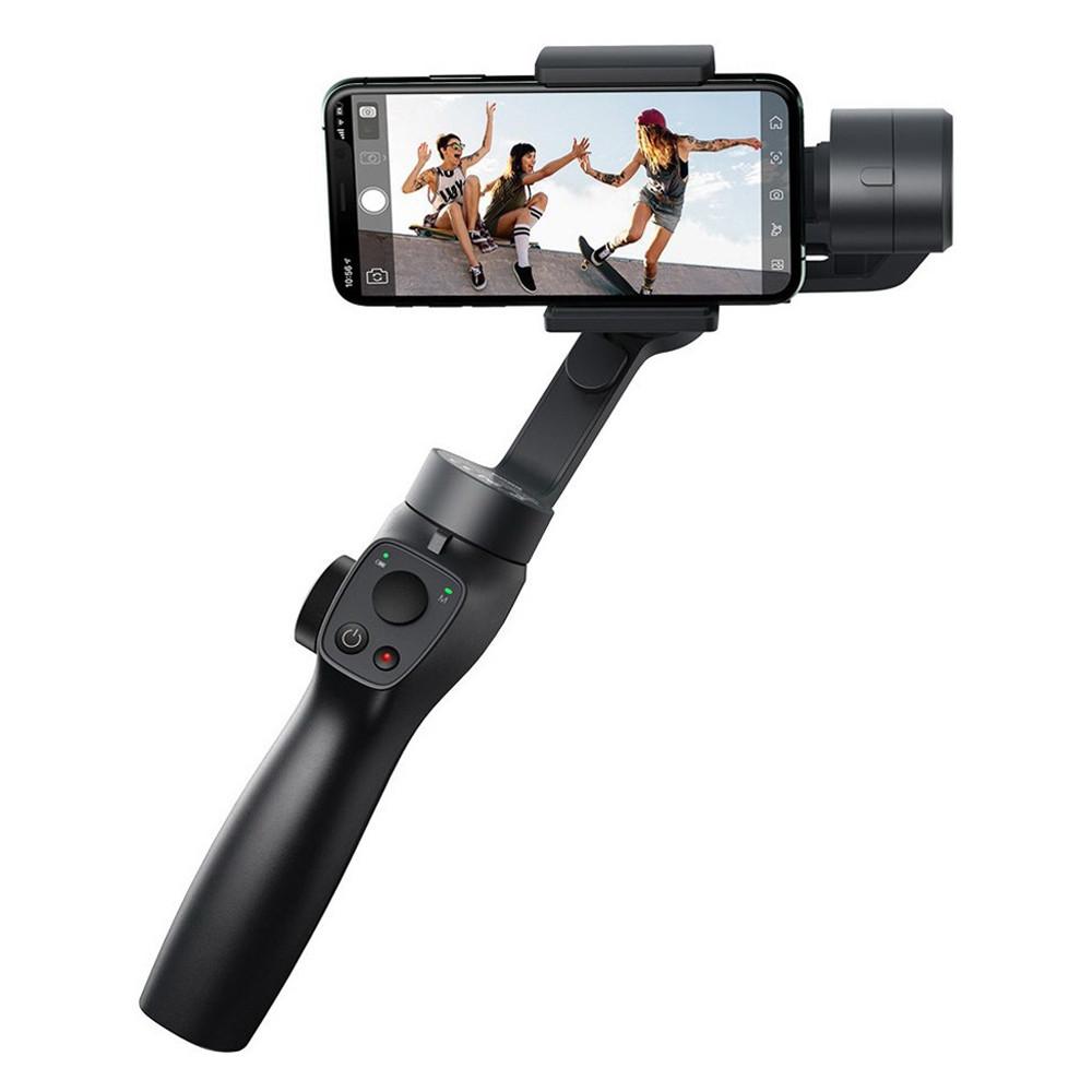 Стедикам для телефона и экшн-камеры Baseus Control Smartphone Handheld Gimbal SUYT-0G (Черный)