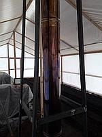 Цвет побежалости дымохода - интересные превращения трубы