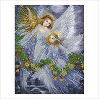 """Набор для вышивки бисером """"Рождественские ангелы"""""""