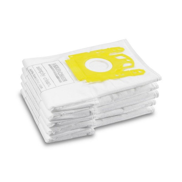 Фільтр-мішки з нетканного матеріалу (5 шт.) до VC 6