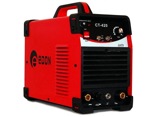 Сварочный инвертор плазморез аргон EDON CT-420 (CUT+TIG+MMA)