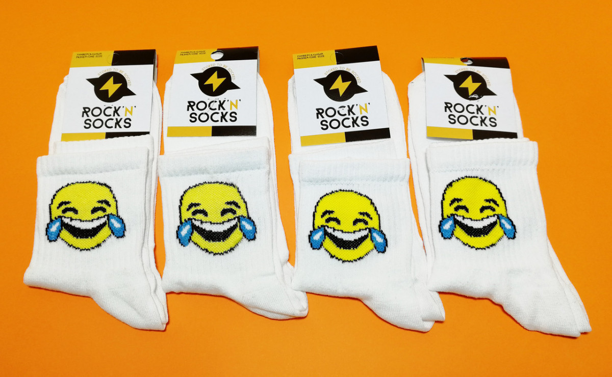 Носки с приколами демисезонные Rock'n'socks 444-01 Украина one size (37-44р) НМД-0510492