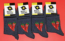 Носки с приколами демисезонные Rock'n'socks 444-14 Украина one size (37-44р) НМД-0510497