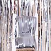 Фото-фон - шторка из фольги СЕРЕБРО (1х2 метра), фото 4