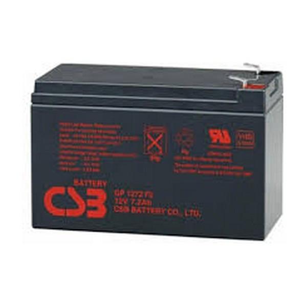 Акумуляторна батарея CSB 12V 7.2AH (GP1272, 28W) AGM (2,1кг)