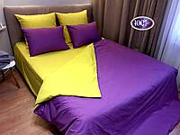 Комплект постельного белья Сатин Дуэт однотонный сдо01 Евро