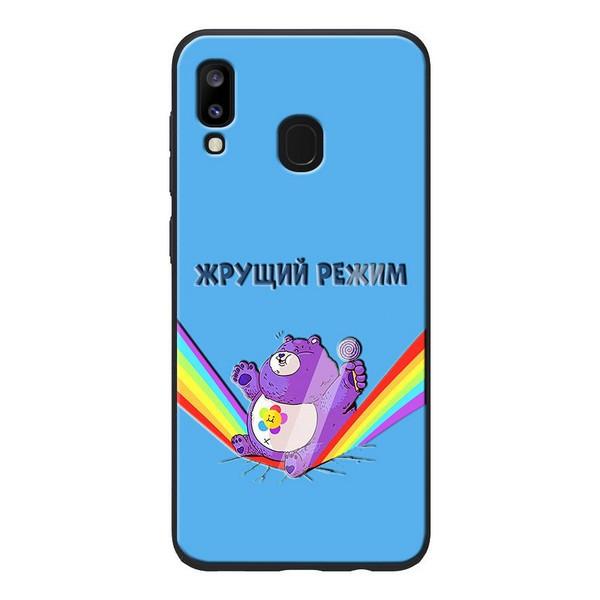 Накладка для Samsung Galaxy A305F A30/Galaxy A205 A20 TPU+PC ForFun Жере режим