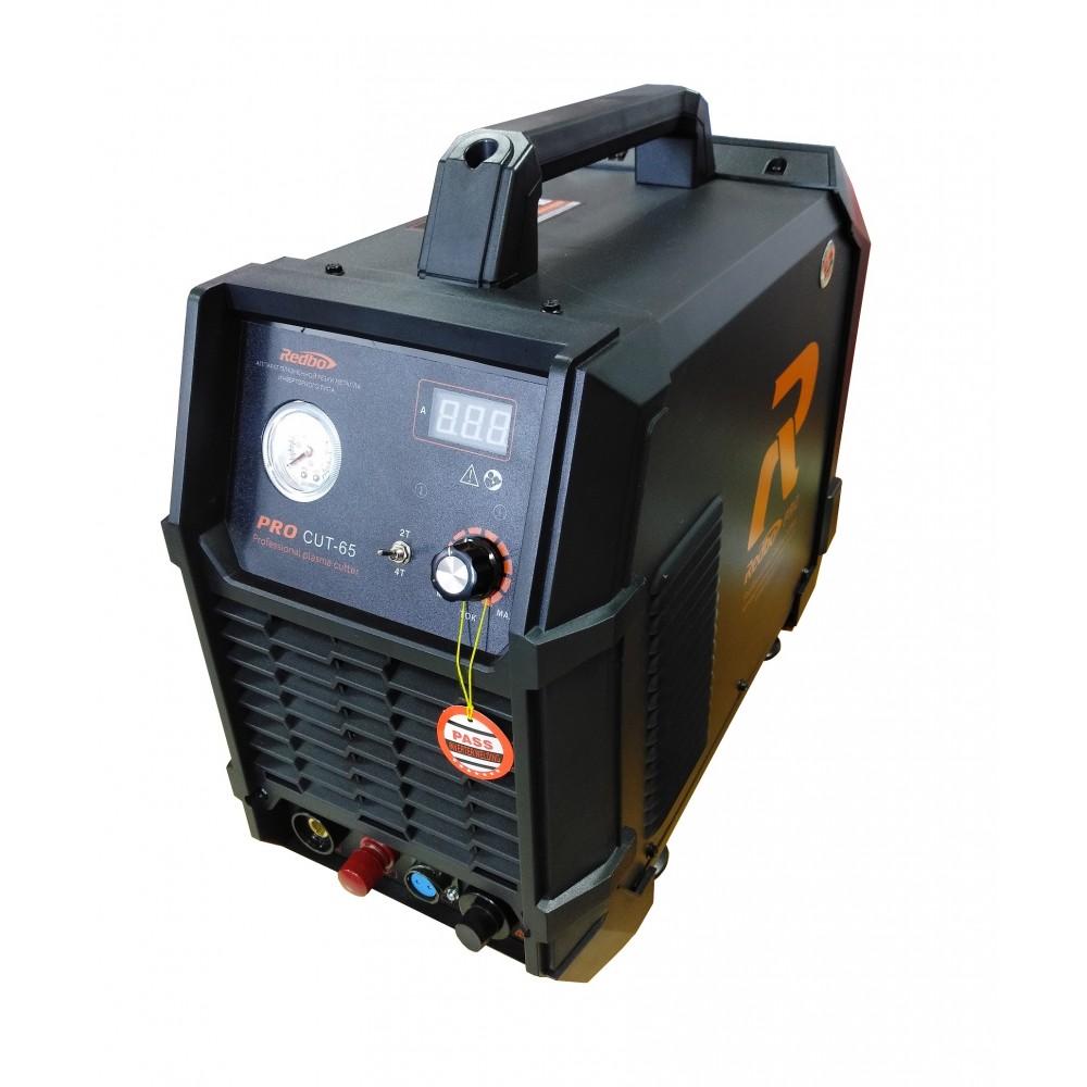 Плазморез инверторный Redbo PRO CUT-65 со встроенным компрессором