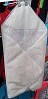 Конверт для новорожденного зимний на выписку мех, на липучке, раскладывается в одьяльце