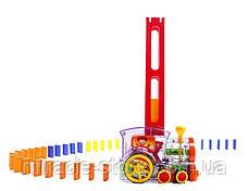 Автоматический домино поезд с паром, фото 3