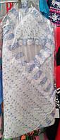 Конверт для новорожденного на выписку шитье, на липучке, раскладывается в одьяльце