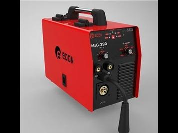 Инверторный сварочный полуавтомат Edon Smart Mig-290