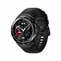 Смарт часы на андроиде с пульсометром черные Honor Watch GS Pro black