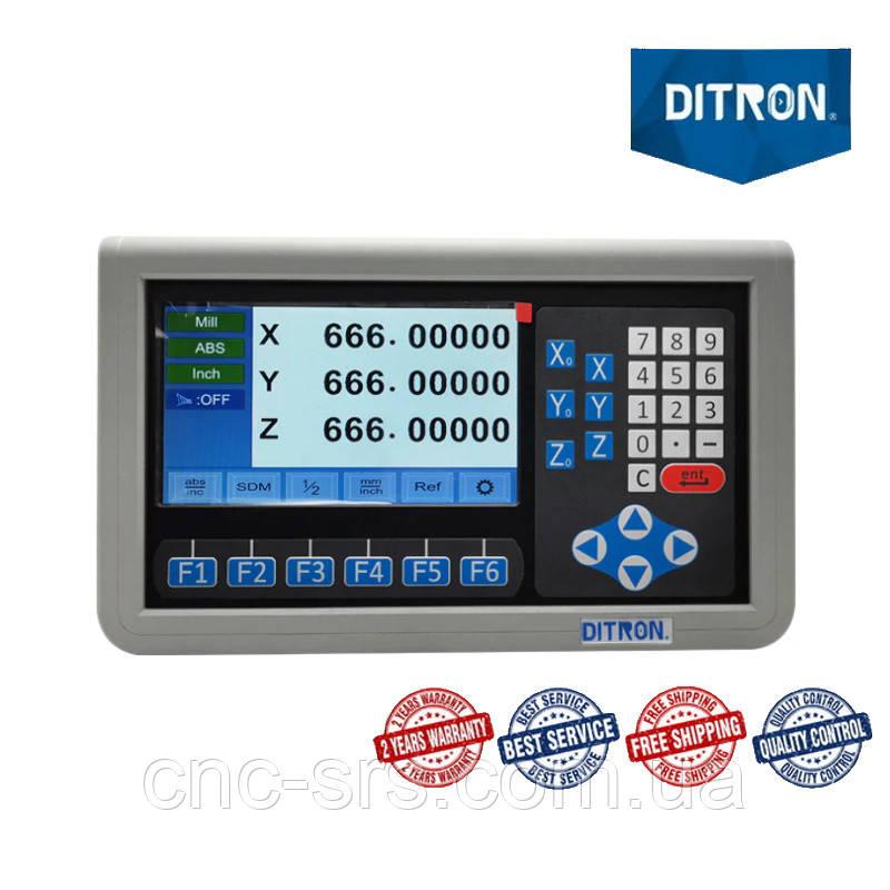 3 оси TTL 5 вольт LCD дисплей  устройство цифровой индикации D80М-3