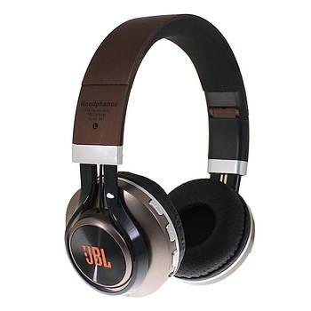 Наушники беспроводные Bluetooth J B L B21 brown