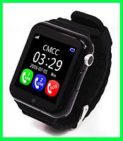Детские смарт-часы V7K Цвет черный