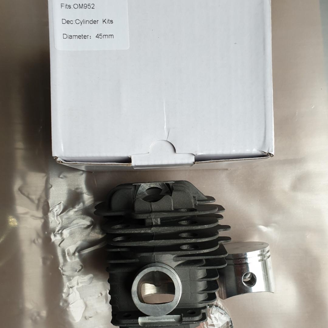 Цилиндр бензопила Oleo-Mac 962,EFCO 162 в сборе 48мм Никасил Китай