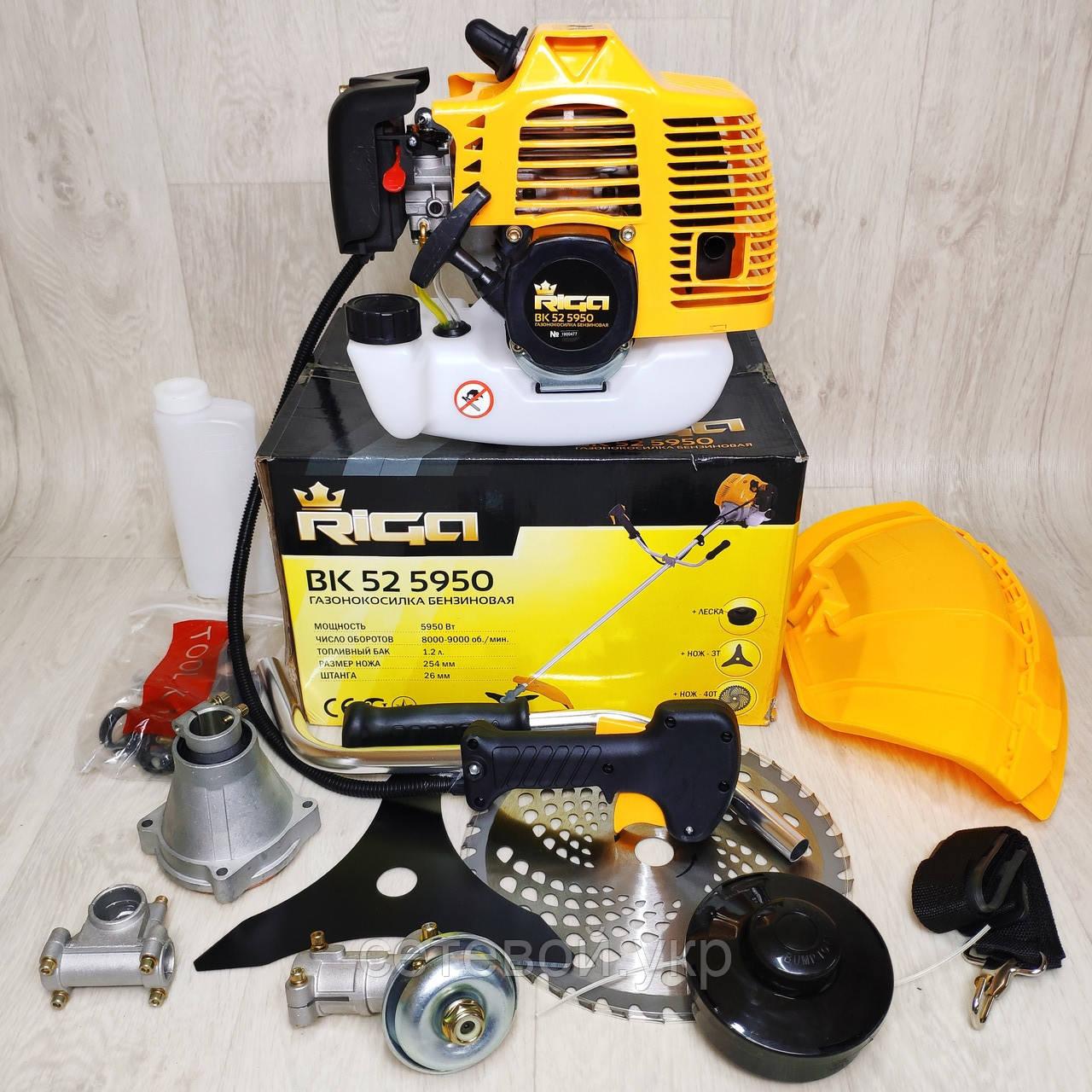 Бензинова коса RIGA BK 52-5950 ( мотокоса бензокоса