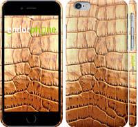 """Чехол на iPhone 6 Кожа крокодила """"1108c-45"""""""