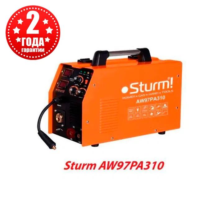 Инверторный сварочный полуавтомат Sturm AW97PA310 MIG/MAG, MMA 310А