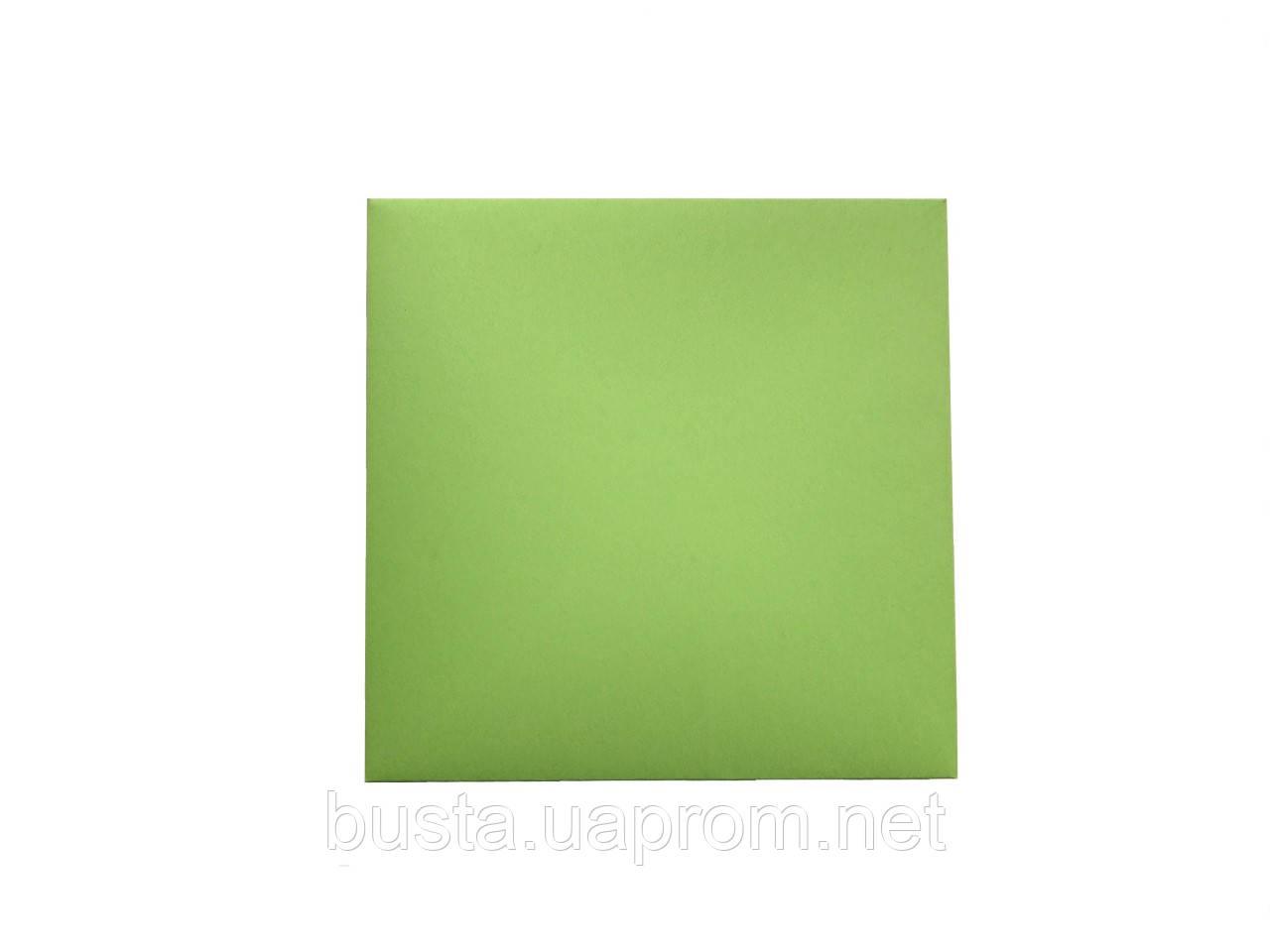 Конверт скл салатовый 145х145 120гр