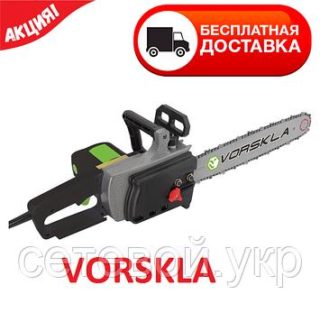 Электропила цепная Vorskla ПМЗ 2500/405 боковой двигатель, фото 2