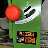 Стаціонарна циркулярна пила дискова PROCRAFT KR 2600 циркулярка побутова, фото 3