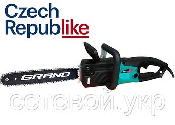 ПЛАВНЫЙ ПУСК. Электропила Grand ПЦ-2750, электрическая цепная пила гранд, фото 2