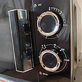 Микроволновая печь Grunhelm 20MX68-LB черная (мощность 800 Вт), фото 2