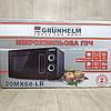 Микроволновая печь Grunhelm 20MX68-LB черная (мощность 800 Вт), фото 5
