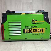 Зварювальний апарат Procraft AWH-300Т + МАСКА ХАМЕЛЕОН, фото 2
